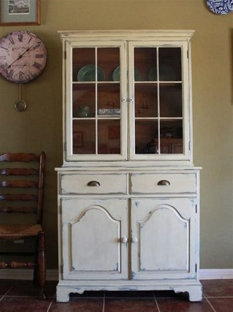 farmhouse style china cabinet china cabinets  hutches
