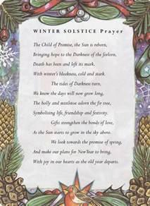 Winter Solstice Prayer