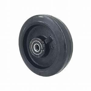 Roue De Manutention Charge Lourde : roue de manutention en caoutchouc et fonte 200mm axe 20 mm ~ Edinachiropracticcenter.com Idées de Décoration