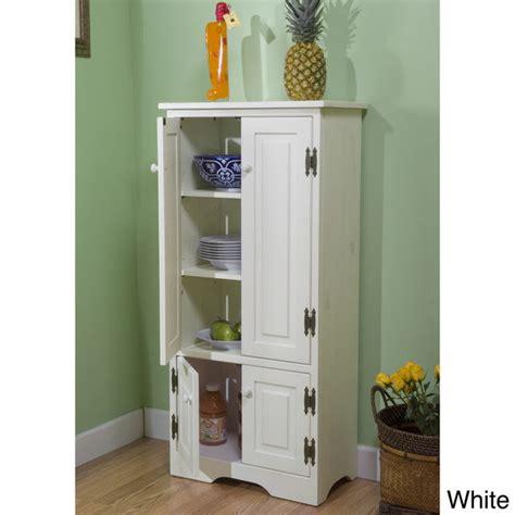 white tall cabinet storage kitchen pantry organizer furniture bathroom cupboard ebay