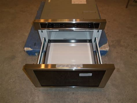 thermador microwave drawer thermador 24 quot buit in microwave drawer stainless md24js scuffs