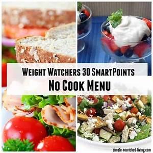Weight Watchers Smartpoints Berechnen 2016 : weight watchers 30 smartpoints no cook menu ~ Themetempest.com Abrechnung