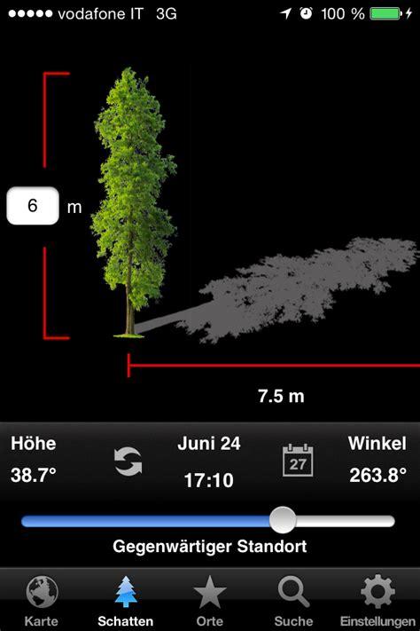 Farbton Bestimmen App by Mit Der App Lighttrac Den Sonnenstand Bestimmen Gewinn