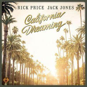 california dreaming rick price  jack jones album