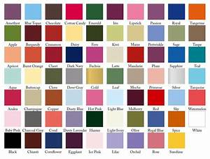 1000 images about color swatches for weddings on With wedding dress color chart
