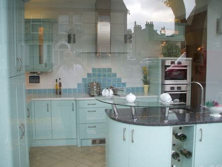 Ex Display Complete Callerton Ice Blue Painted Oak Kitchen