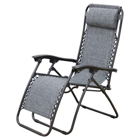 elastique chaise longue lafuma quot relax quot patio lounge chair 44 1 quot grey rona