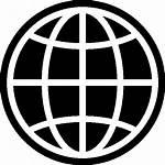 Globe Icon Url Maps Transparent Filled Web