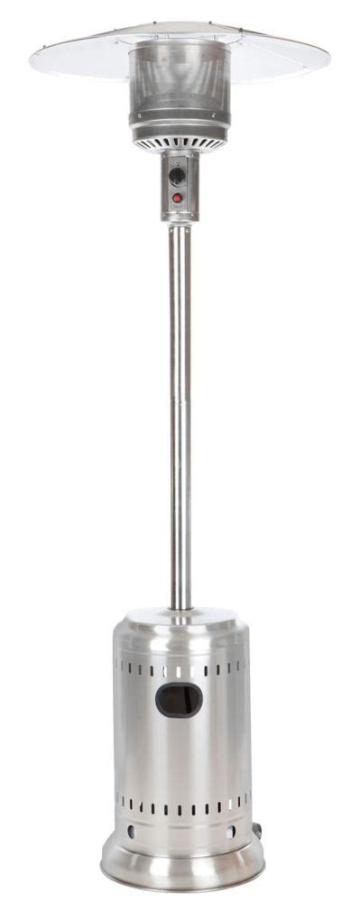home depot patio heater paramount size stainless steel propane patio heater