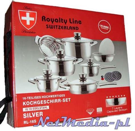 batterie de cuisine swiss line batterie de cuisine swiss line 28 images royalty line