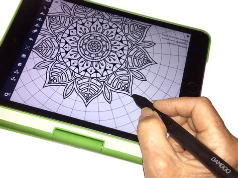 draw  mandala  concepts concepts app medium