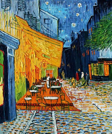 gogh cafe terrace at 2017 cheap painting cafe terrace at by artist