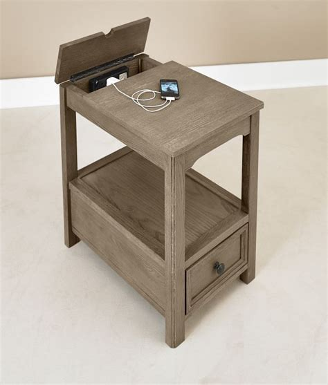 wave chairside table w drawer 299 99 sku 134731