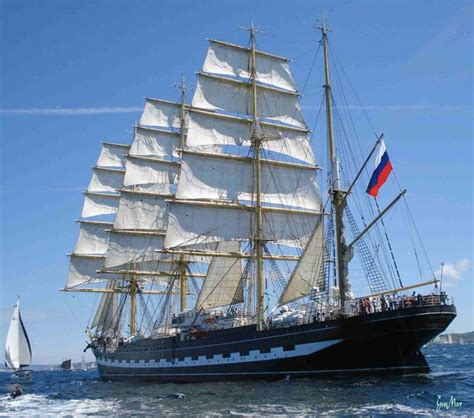 voilier kruzenshtern quatre mats barque russe