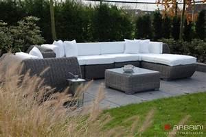 Polyrattan Lounge Grau : rattan lounge set grau ~ Indierocktalk.com Haus und Dekorationen