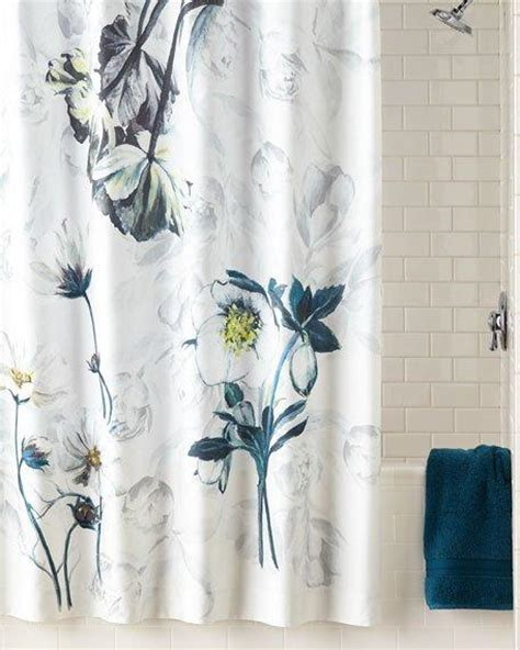 blue flower shower curtains curtain menzilperde net