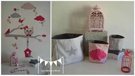 Decoration Chambre Bebe Fille Rose Et Gris