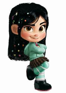 Vanellope Von Schweetz Hair Down2 by 9029561 on DeviantArt
