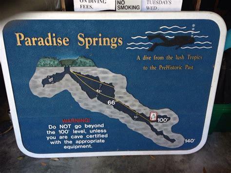 Paradise Springs | Scuba Diving | Pinterest