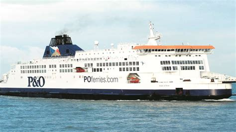Delays to P&O Ferries Dover Calais route