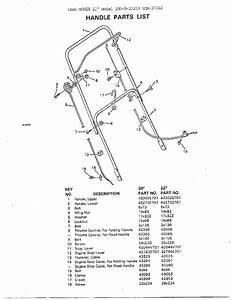Lawn Mower Parts Diagram