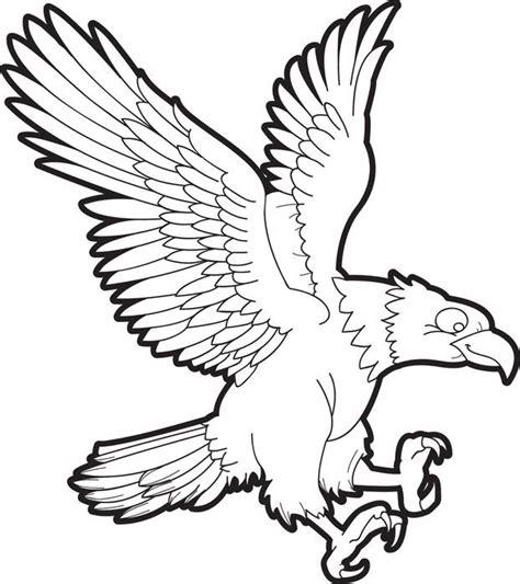 sketsa gambar burung elang terbaru gambarcoloring