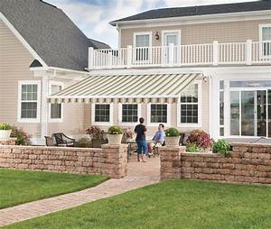 Retractable Patio Sunroom Awnings Betterliving Sunrooms Of