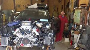 Audi S4 Avant  B7  First Time Engine Start After Accident