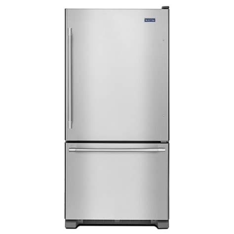 Shop Maytag 187cu Ft Bottomfreezer Refrigerator With