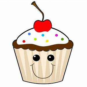 Cute cupcake clipart with faces google search cupcakes ...