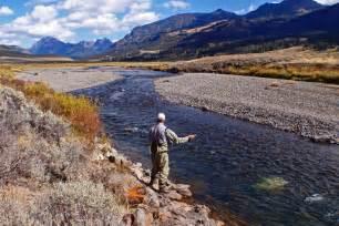 Yellowstone National Park Fishing