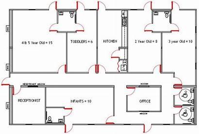 Daycare Setup Layout Plan Floor Childcare Preschool