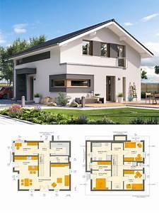 Modernes Haus Satteldach : modernes satteldach haus mit galerie einfamilienhaus ~ A.2002-acura-tl-radio.info Haus und Dekorationen