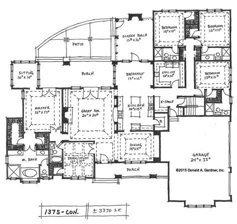 5 bedroom 1 house plans home plan the harrison 1375 is now available