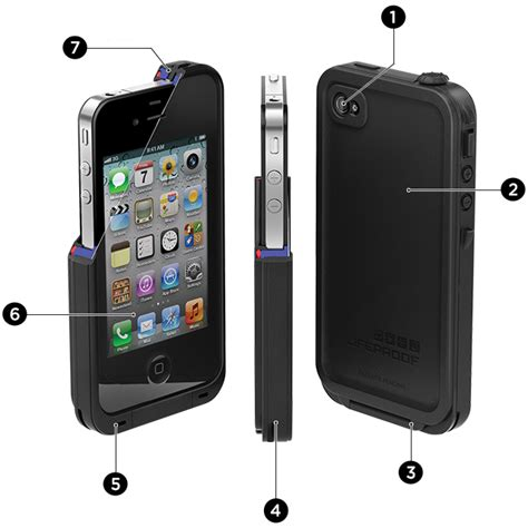 lifeproof iphone 4s iphone 4 cases iphone 4s cases lifeproof