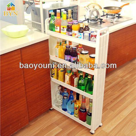 id馥s rangement cuisine baoyouni 4 mobil niveaux rack cuisine salle de bain pp étagère de rangement à roulettes dq 1309 porteurs étagères de rangement id de