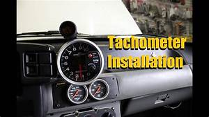 How To Install A Tach    Tachometer Installation  Autometer