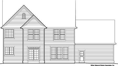 Country House Plan 2322F The Cameron: 3088 Sqft 4 Beds 2