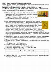 Multimetre Digital Mode D Emploi : multimetre utilisation dt notice manuel d ~ Dailycaller-alerts.com Idées de Décoration