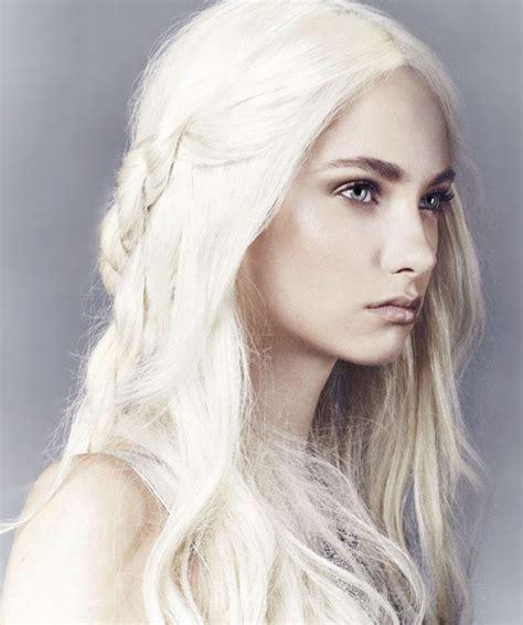 Hair Almost White by Targaryen Targaryen And Dragons Platinum Hair