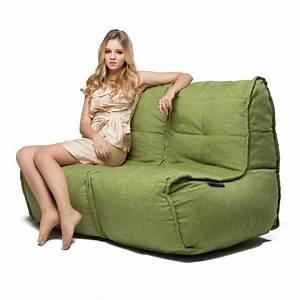 2, Seater, Green, Sofa