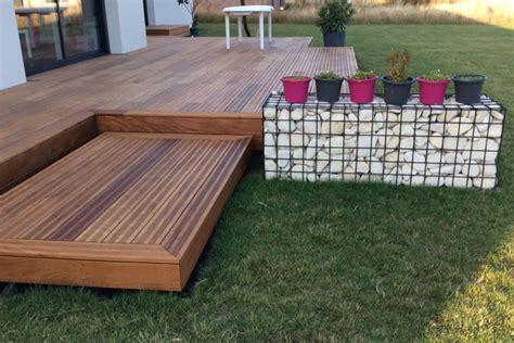 lame bois terrasse terrasse en bois exotique ipe nature bois concept