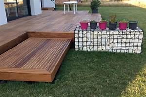 Lame De Bois Pour Terrasse : terrasse en bois exotique ipe nature bois concept ~ Melissatoandfro.com Idées de Décoration