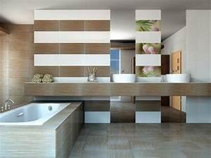 carrelage sol salle de bain imitation bois en 15 idees top With salle de bain design avec devenir décorateur d intérieur indépendant