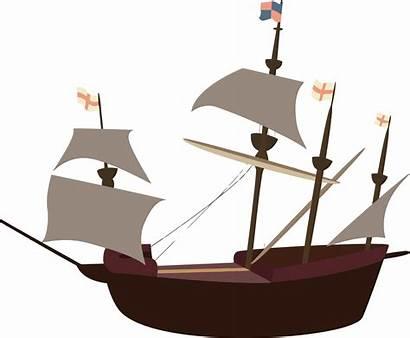 Pirate Ship Clipart Clip Pirates Pixabay Hajo