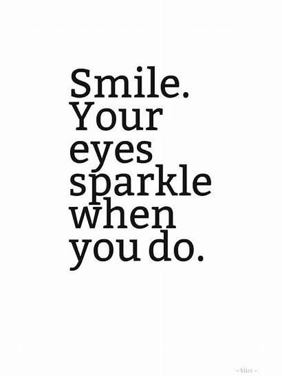 Smile Quotes Eyes Quote Smiling Happy Eye