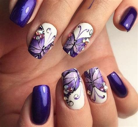 butterfly nail designs 60 most beautiful butterfly nail design ideas