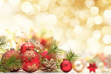 christmas ornaments yellow background gallery