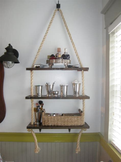 A Walk Through Bathroom Shelving Diy