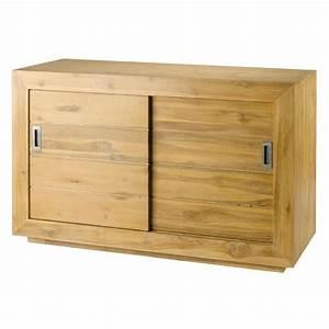 Meuble Bas Porte : meuble bas portes coulissantes ~ Edinachiropracticcenter.com Idées de Décoration
